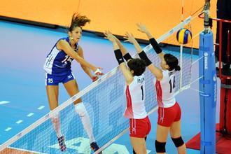 В Мировом Гран-при женская сборная России победила японок