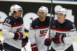Хоккеисты сборной США одержали вторую победу на ЧМ в Чехии
