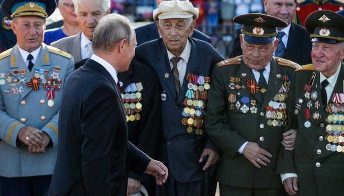 «Мы заткнем поганый рот»: что Путин пообещал ветеранам