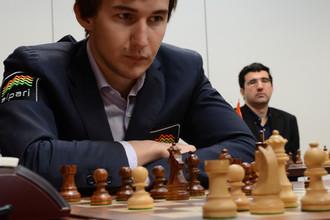 Сергей Карякин сыграет с Владимиром Крамником в первом туре шахматного супертурнира в Ставангере