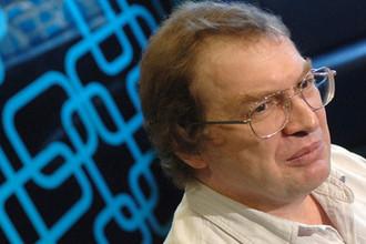 Сергей Мавроди на презентации своей новой книги «Искушение», 2008 год