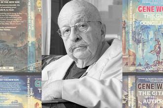 Джин Вулф и обложки его книг, коллаж «Газеты.Ru»