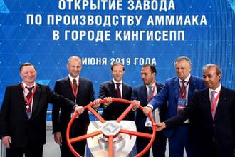 Новый экспорт: «Еврохим» запустил производство аммиака
