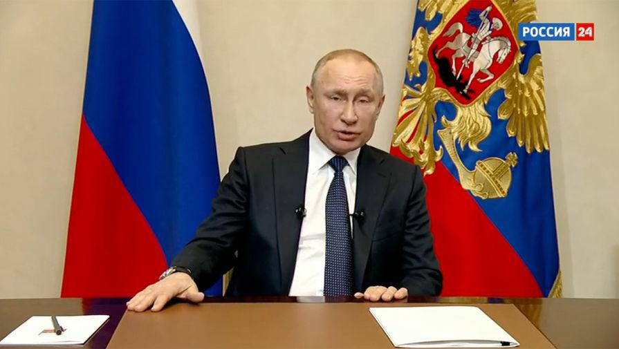 Путин объявил о нерабочей следующей неделе