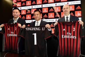 Владелец «Милана» Йонхонг Ли