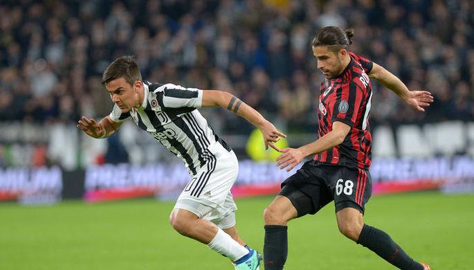 Эпизод матча «Ювентус» — «Милан»