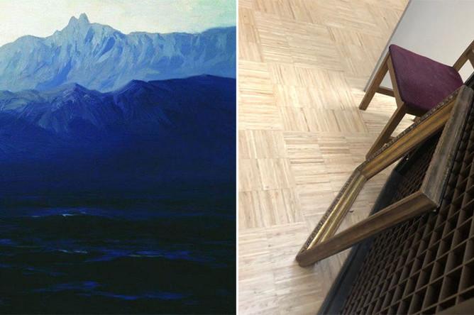 В Третьяковской галерее неизвестный мужчина украл картину Куинджи «Ай-Петри. Крым», 27 января 2019 года