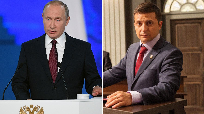Путин увидел много общего у себя с Зеленским
