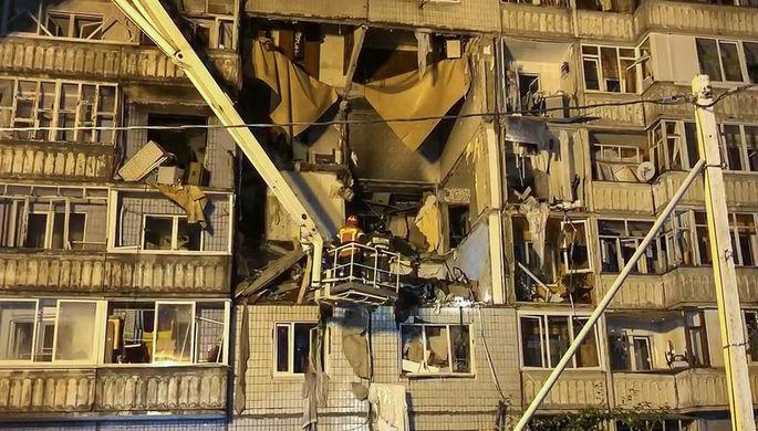 На месте взрыва газа в 10-этажном жилом доме в Ярославле, 21 августа 2020 года