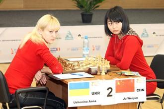 В полуфинале Анна Ушенина обыграла китаянку Цзюй Вэньцзюнь