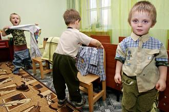 Воспитанники детского дома в Ивановской области