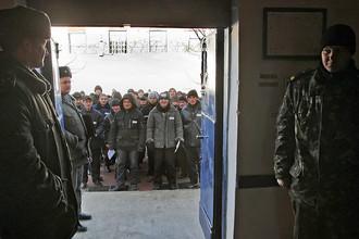 Заключенные в симферопольской исправительной колонии