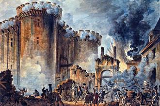 «Взятие Бастилии 14 июля 1789» художника Жан-Пьера Уэля