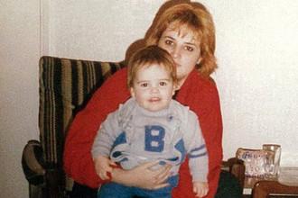 Британка Джеки с сыном