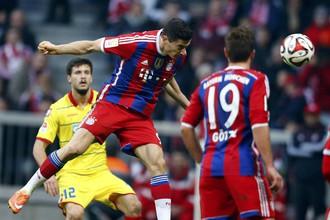 «Бавария» отгрузила четыре мяча «Хоффенхайму»