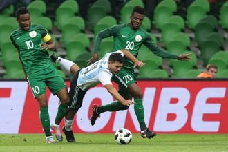 Нигерийцы ошеломили сборную Аргентины