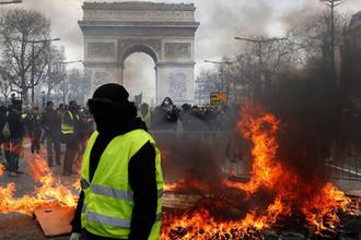 Протесты «Желтых жилетов» в Париже, 16 марта 2019 года