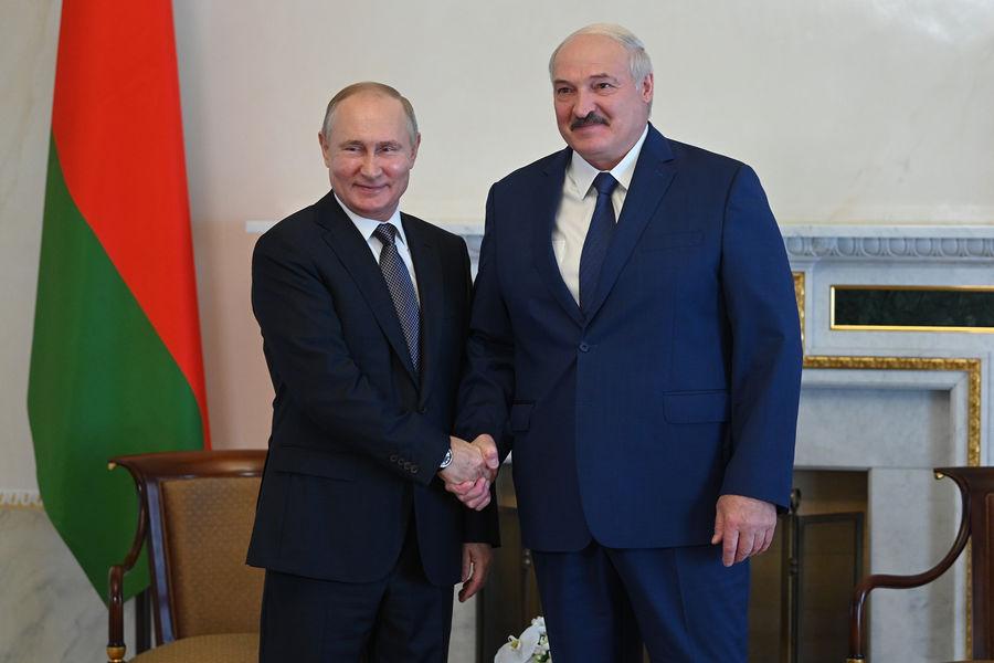 Путин поздравил Лукашенко СЃРґРЅРµРј рождения