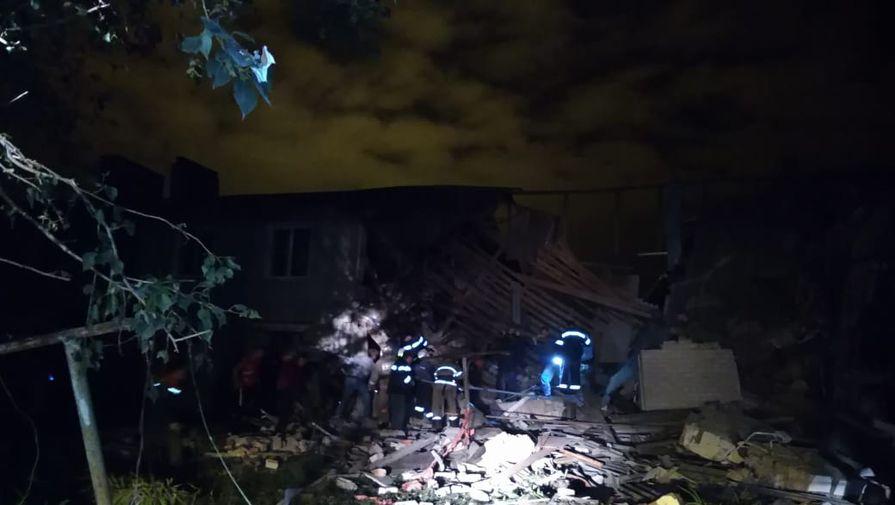 Очевидцы рассказали подробности взрыва газа в доме под Ельцом