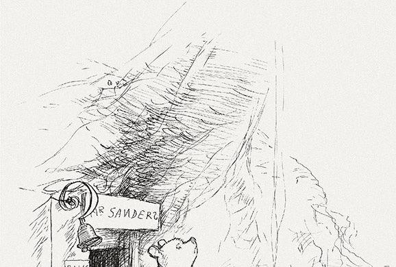 Иллюстрации Эрнеста Шепарда (1879–1976) к книге А. Милна