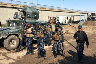 Федеральная полиция Ирака, участвующая в боях
