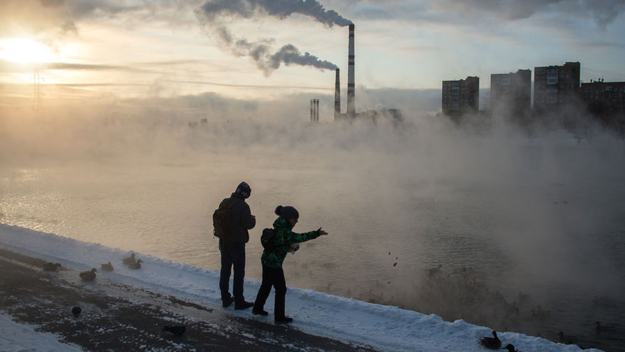 Привет из Арктики: морозы идут на Москву