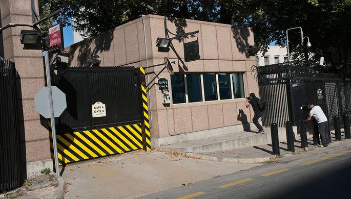 «4-5 выстрелов»: атаковано посольство США в Анкаре