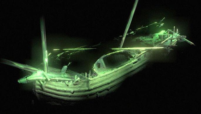 «Как вчера затонул»: на дне Балтики нашли загадочный корабль