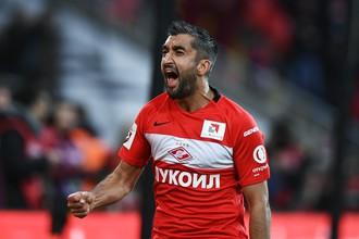 Вернувшийся в «Спартак» зимой Александр Самедов забил победный гол в матче с «Анжи»