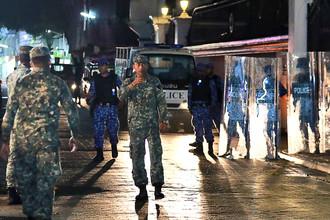 Ситуация в столице Мальдив, городе Мале, 5 февраля 2018 года