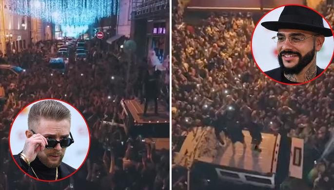 Напели на штраф: суд не оценил концерт Крида и Тимати