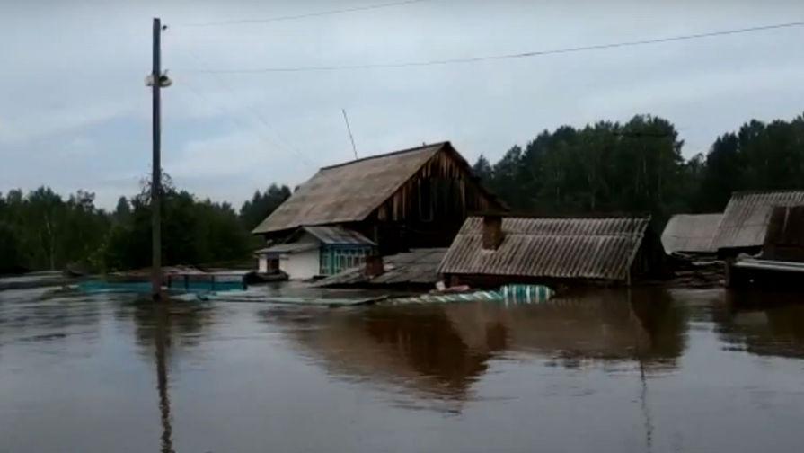 Уровень воды в Тулуне упал после приезда Путина