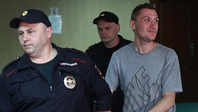 Константин Котов, задержанный на несанкционированной акции 10 августа в Москве