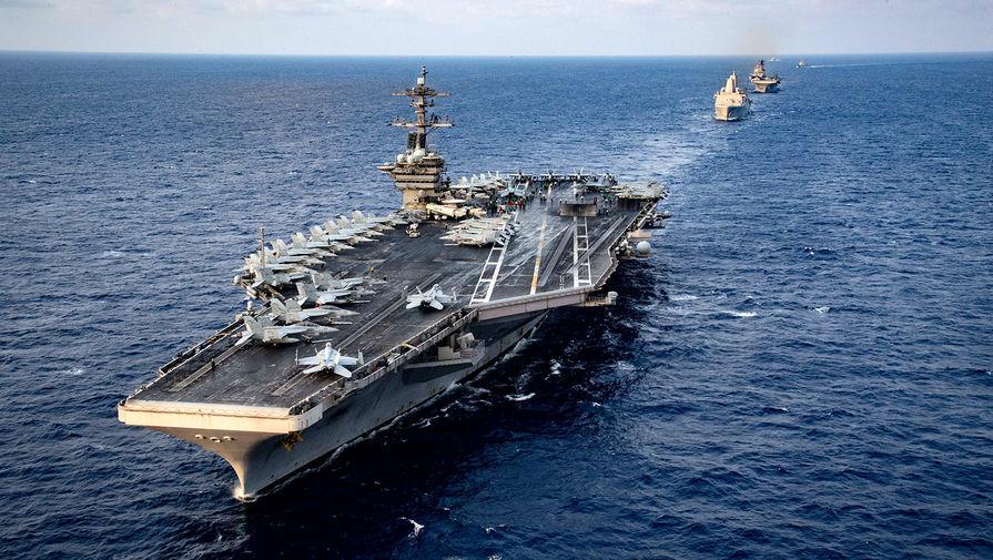 Эксперт назвал способ уничтожения авианосца ВМС США у берегов России