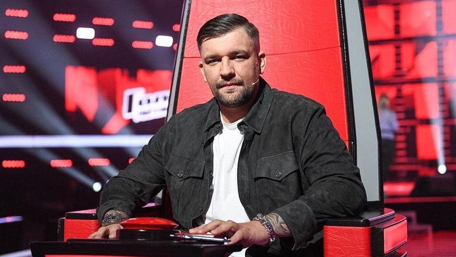Рэпер Василий Вакуленко (Баста) во время шоу «Голос. Дети», 2020 год
