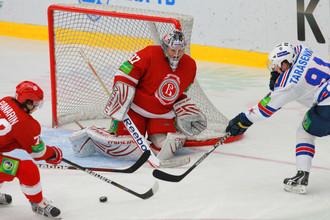 «Витязь» и СКА показали зрелищный хоккей