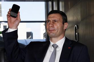 Глава фракции УДАР Виталий Кличко