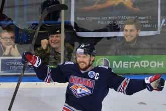 Сергей Мозякин оформил дубль в пятом матче