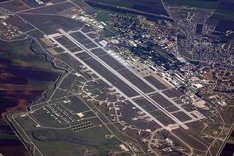 Вид на авиабазу Инджирлик