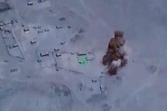Уничтожение объектов террористов ударом вертолетов Ка-52 «Аллигатор» ВКС РФ в сирийской провинции Дейр-эз-Зор перед высадкой тактического десанта правительственных сил Сирии, 12 августа 2017 года