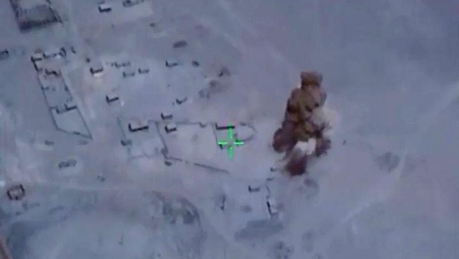 За «Хмеймим»: Россия ударила по боевикам в Сирии