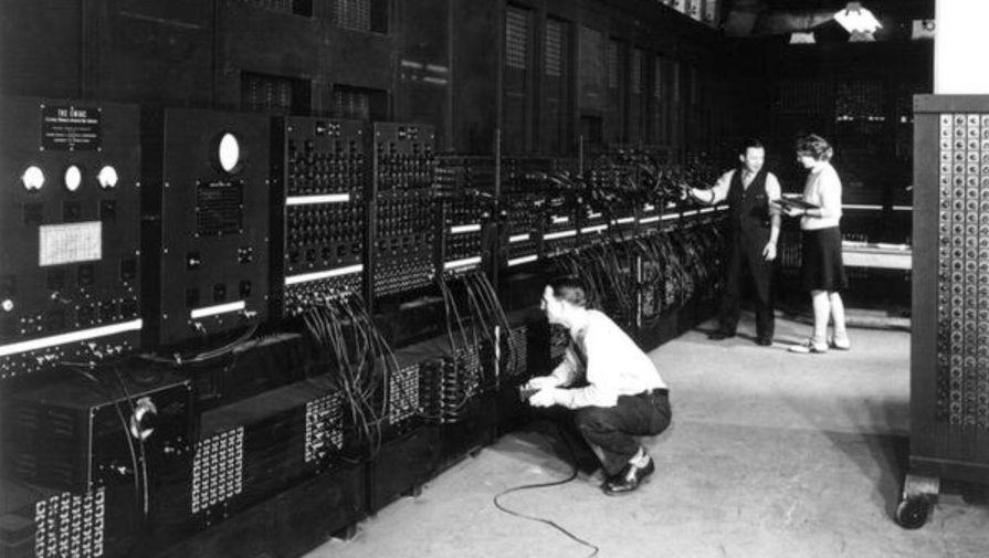 В ноябре 1946 года компьютер перевезли из Пенсильванского университета в Лабораторию баллистических исследований армии США. Он проработал до 2 октября 1955 года, когда был выключен навсегда