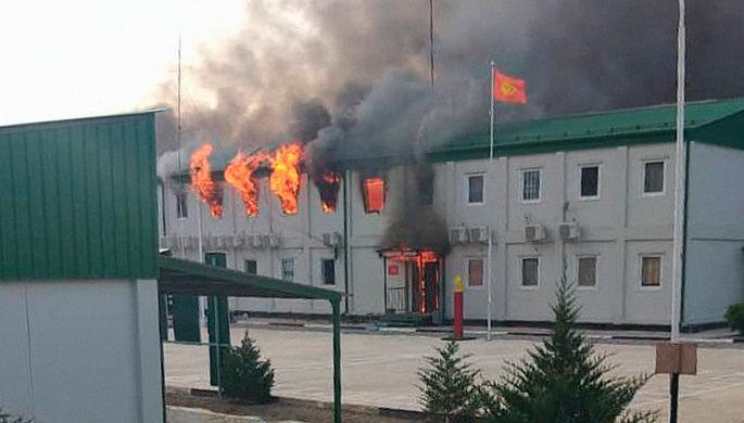 Киргизия и Таджикистан подсчитали потери от перестрелки на границе