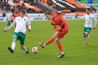 «Урал» в 23-м туре чемпионата России по футболу принимает на своем поле «Томь»