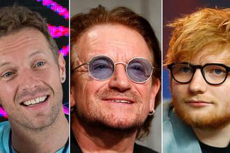 Золотые голоса: самые высокооплачиваемые музыканты года