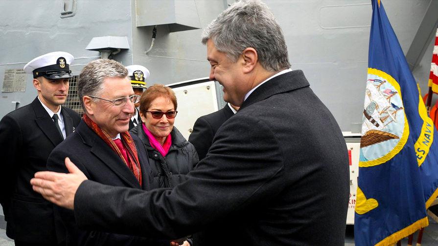 Эсминец США покинул порт Одессы после встречи Порошенко с Волкером