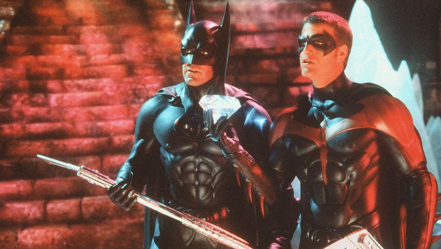 Кадр из фильма «Бэтмен и Робин» (1997)
