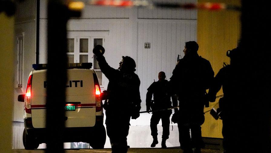 Число жертв атаки злоумышленника с луком в Норвегии увеличилось до пяти человек