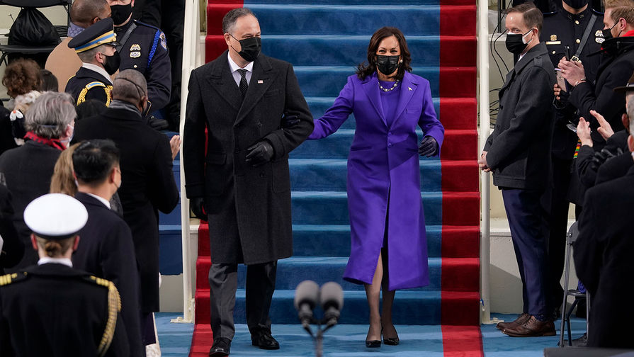 Почему наряд Камалы Харрис на инаугурации стал интереснее одежды Джилл Байден