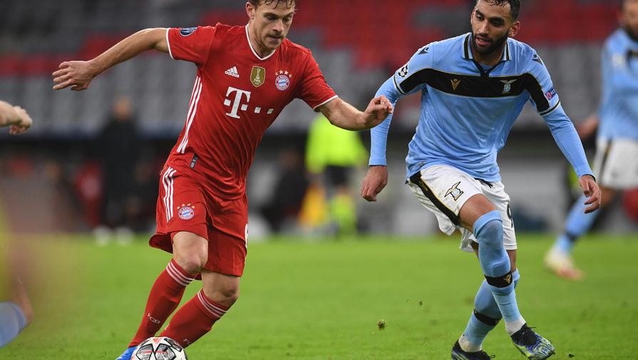 Эпизод матча «Бавария»- «Лацио»